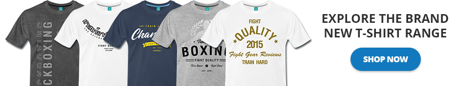 Explore the Brand New Fight Quality T-Shirt Range