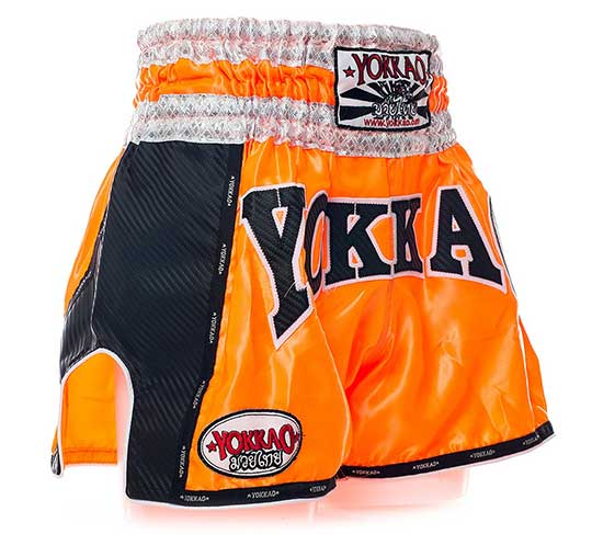 YOKKAO Orange Carbon Muay Thai Shorts Customised Review