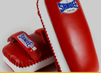 Sandee large extra thick flat Thai kick pads Review