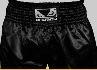 Bad Boy Black Muay Thai Shorts Review