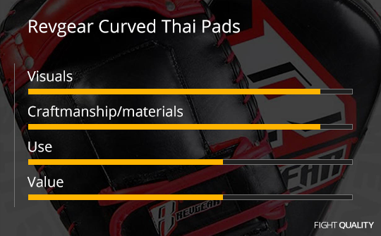 Revgear Curved Thai Pads Review
