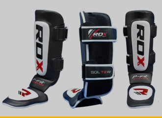 RDX Cow Hide Leather MMA Shin Guards Review