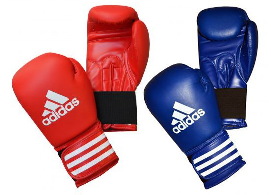 Example Amateur Competition Gloves: Adidas Ultima Competition Boxing Gloves