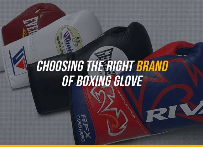 Choosing the Right Brand of Boxing Glove