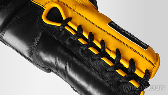 Example Lace-Up Gloves: iBox Customise Custom Boxing Gloves