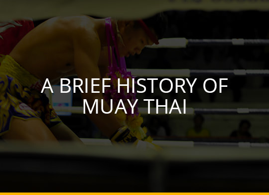 A Brief History of Muay Thai