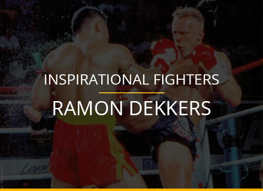Inspirational Fighters - Ramon Dekkers