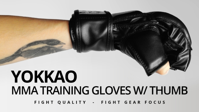 Fight Gear Focus - YOKKAO MMA Training Gloves w/ thumb (Video)
