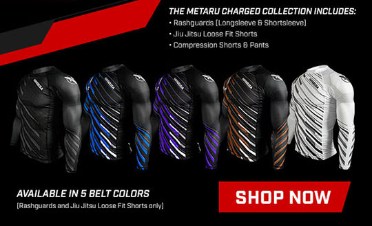 Hayabusa Charged No Gi Collection (Rash Guards, Jiu Jitsu Shorts, Compression Pants and Compression Shorts)