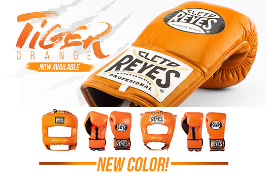 Cleto Reyes New Colour - Tiger Orange