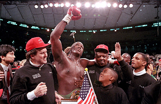 "Inspirational Fighters – James ""Buster"" Douglas"