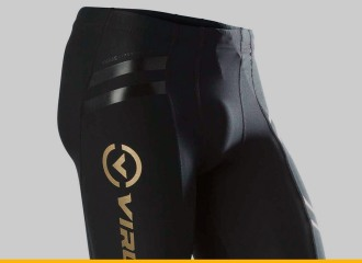 VIRUS Men's Energy Series Bioceramic Compression V2 Tech Shorts - Recovery + Endurance (Au11) Review