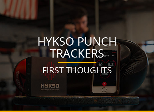 First Thoughts on the Hykso Punch Trackers