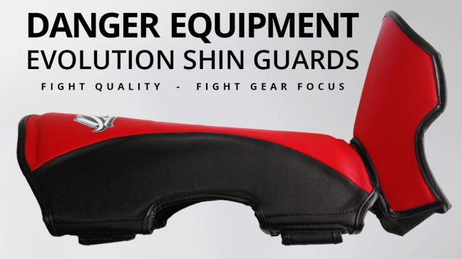 Fight Gear Focus - Danger Equipment Evolution Shin Guards (Video)