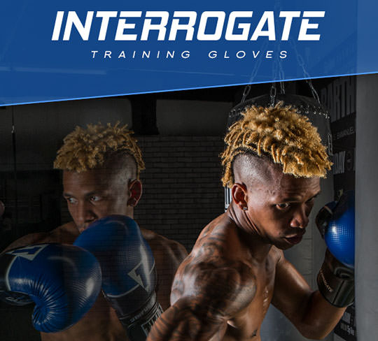 Title Infused Foam Interrogate Boxing Gloves