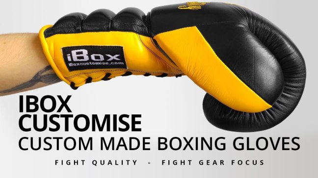 Fight Gear Focus - iBox Customise Custom Boxing Gloves (Video)