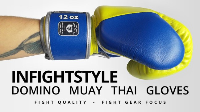 Fight Gear Focus - InFightStyle Domino Muay Thai Boxing Gloves (Video)