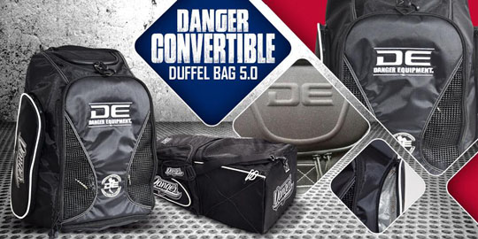 Danger Convertible Duffel Bag 5.0