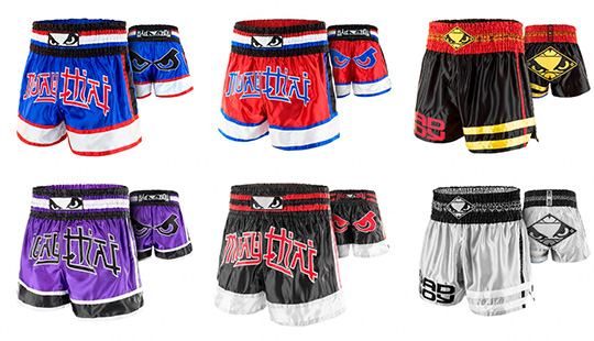 New Bad Boy Muay Thai Shorts