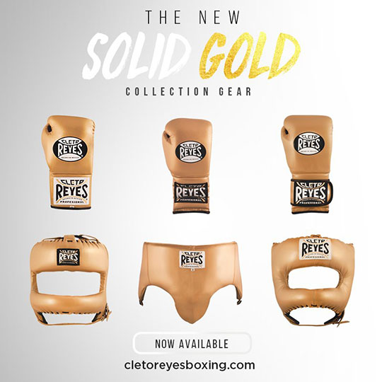Cleto Reyes New Solid Gold Colour Range