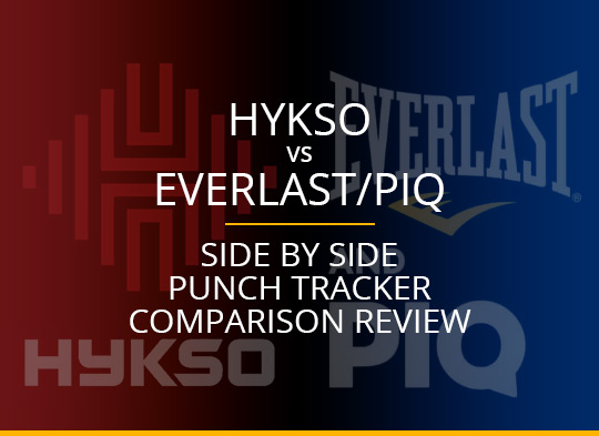 Hykso vs. Everlast/PIQ: Side By Side Punch Tracker Comparison Review