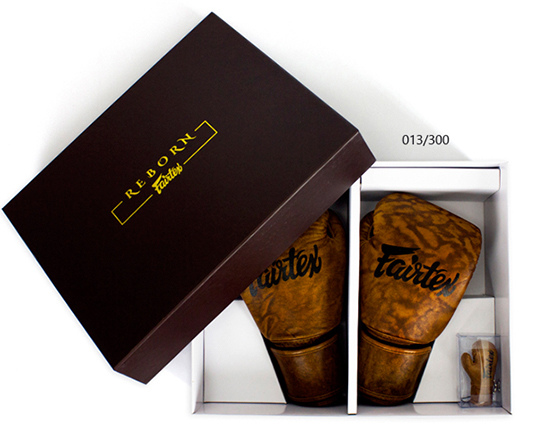 Fairtex Reborn Boxing Gloves BGV15 Limited Edition