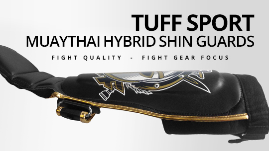 Fight Gear Focus - Tuff MuayThai Hybrid Shin Guards (Video)