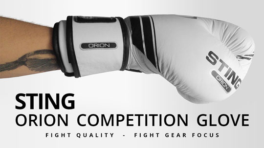 Fight Gear Focus - Sting Sports Orion Competition Premium Gloves (Video)
