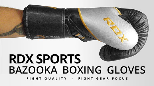 Fight Gear Focus - RDX Sports Bazooka Boxing Gloves (Video)