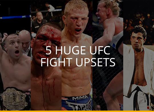 Everyone Loves An Underdog - 5 Huge UFC Fight Upsets