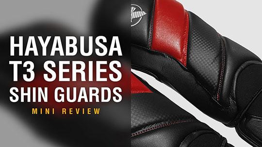 Hayabusa T3 Shin Guards - Fight Gear Focus Mini Review (Video)