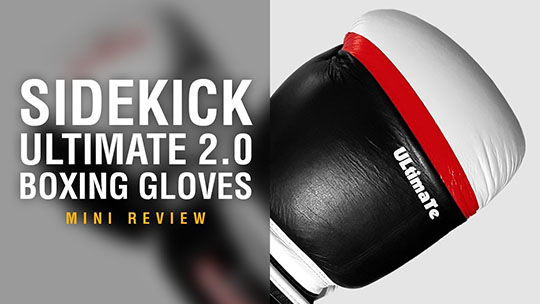 Sidekick Ultimate 2.0 Boxing Gloves - Fight Gear Focus Mini Review (Video)