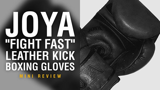 Joya Fight Fast Boxing Gloves - Fight Gear Focus Mini Review (Video)