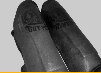 Joya Fight Fast Faded Black Shin Guards Review