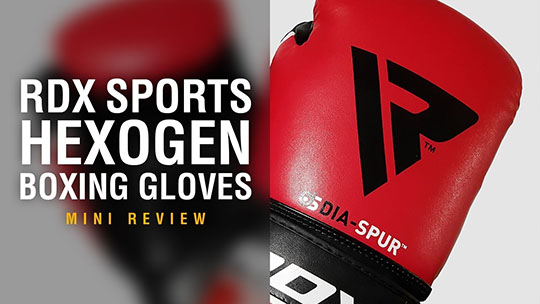 RDX Sports F8 Hexogen Boxing Gloves - Fight Gear Focus Mini Review