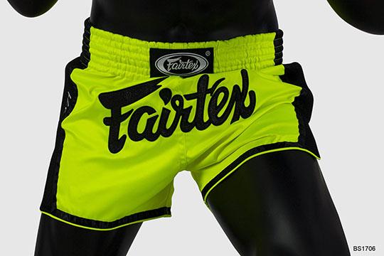 Fairtex BS1706 Slim Cut Muay Thai shorts