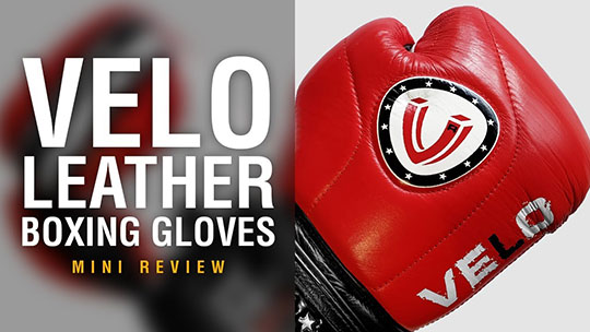 Fight Gear Focus - VELO Leather Boxing Gloves (Video)