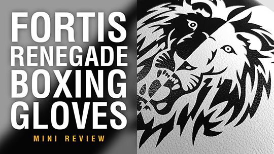 Fight Gear Focus - Fortis Renegade Boxing Gloves (Video)