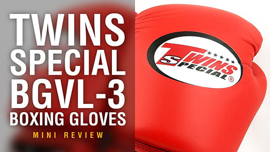 Fight Gear Focus - Twins Special BGVL-3 Muay Thai Boxing Gloves (Video)