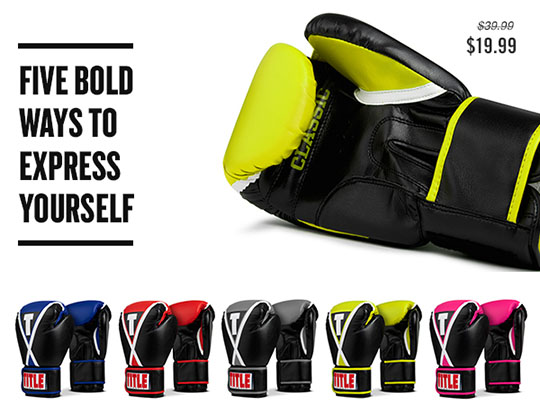 Title Classic X-Press Boxing Gloves