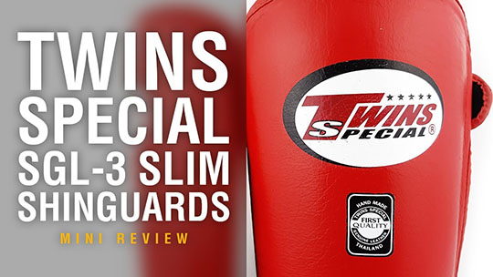 Fight Gear Focus - Twins SGL-3 Slim Shinguards (Video)