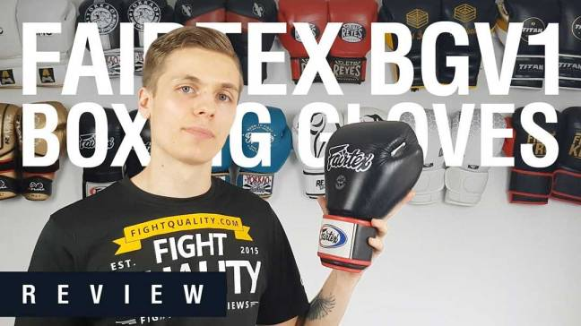 Fairtex BGV1 Muay Thai Boxing Gloves Review (Video)