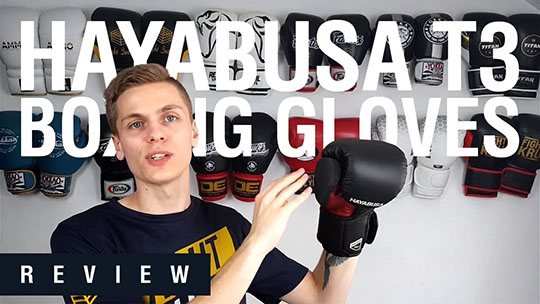 Hayabusa T3 Boxing Gloves Review (Video)