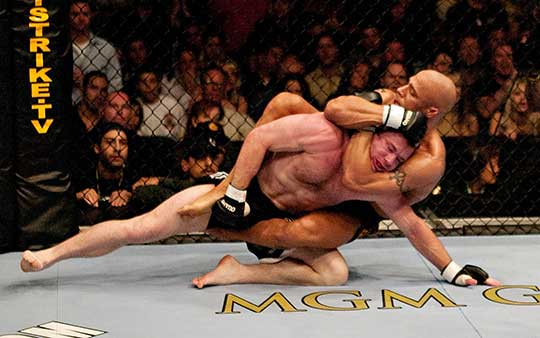 5 of the Best Submissions in UFC History