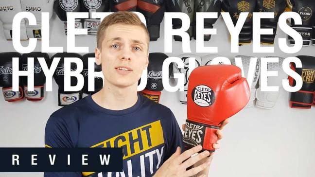 Cleto Reyes Hybrid Training Boxing Gloves Review (Video)