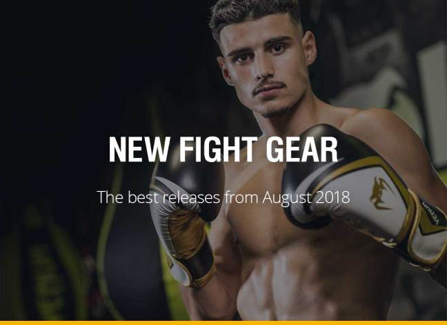 New Fight Gear - August 2018