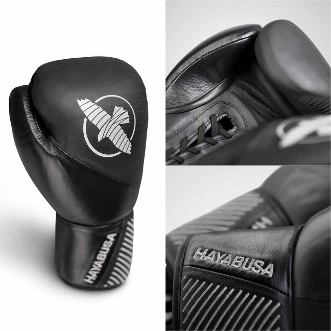 Hayabusa Classic Lace-Up Boxing Gloves