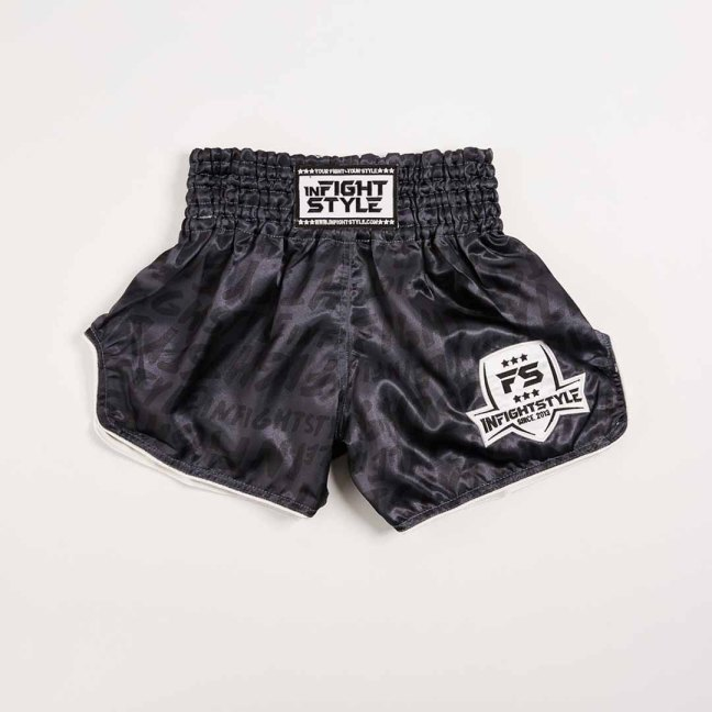 "InFightStyle ""Premo"" Retro Shorts - Playboys"