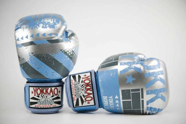 Yokkao Hustle Muay Thai Boxing Gloves
