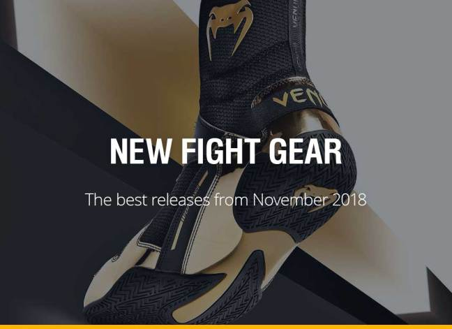 New Fight Gear - November 2018